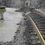 Tillamook Bay Railroad Damages
